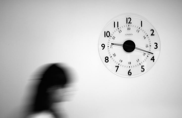 Time passing clock