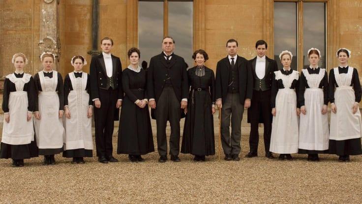 Downton abbey staff