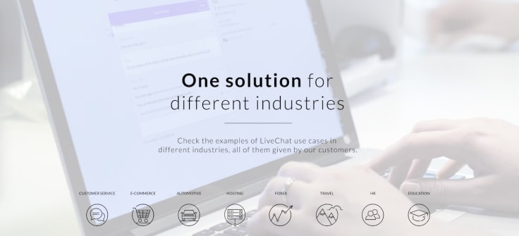 Livechat industries screenshot