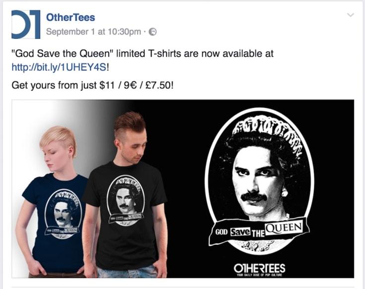 Othertees offer
