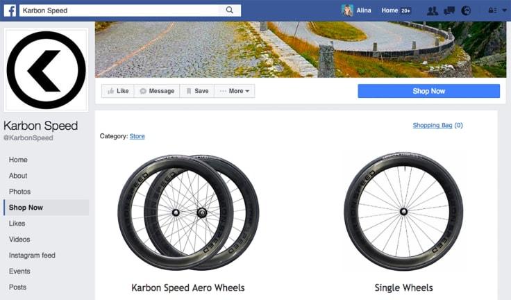Karbon Speed online store