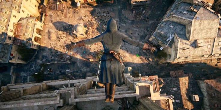 Assassins creed leap faith