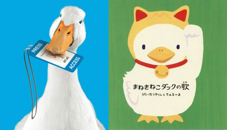Aflac duck comparison