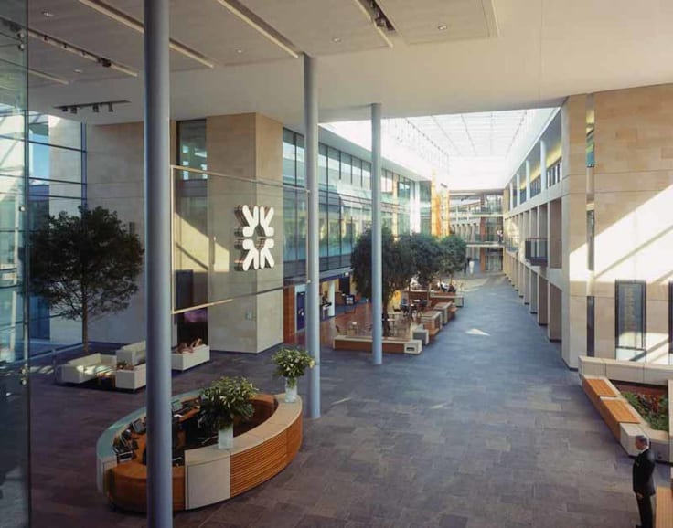 Royal Bank of Scotland - community building