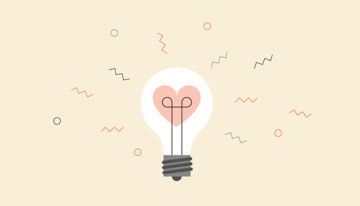 Lighbulb illustration emotional intelligence