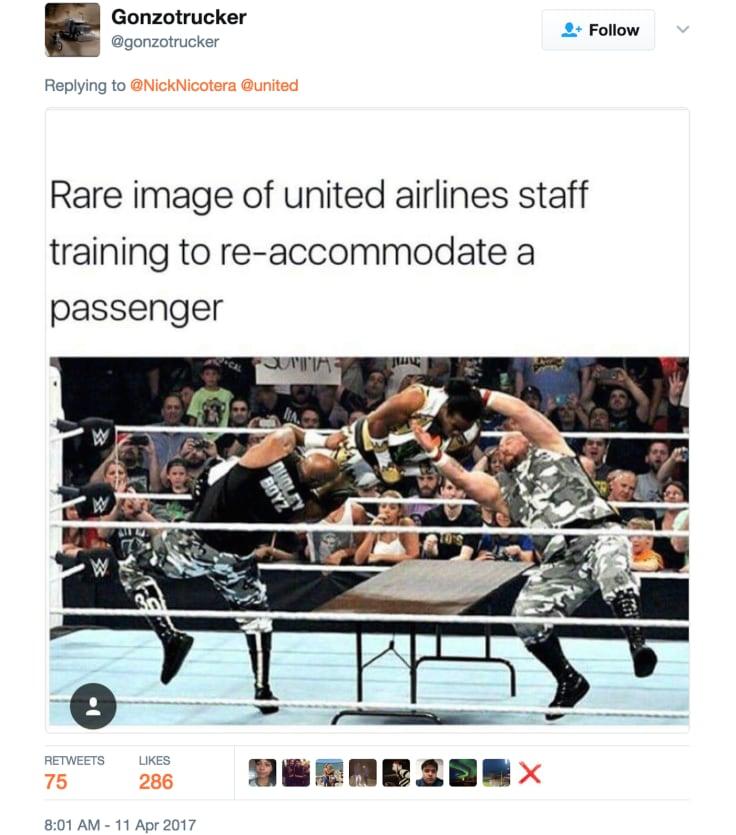 United Airlines funny tweet