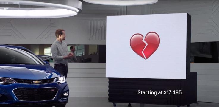 Chevrolet emojis campaign