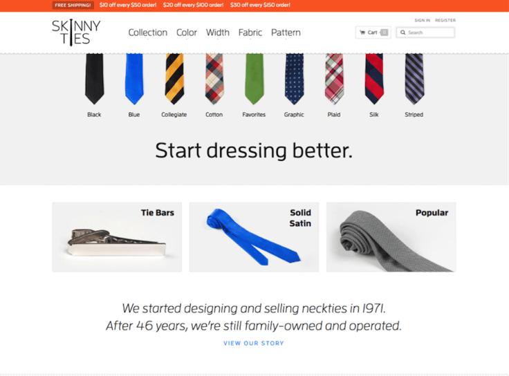 Good responsive design example