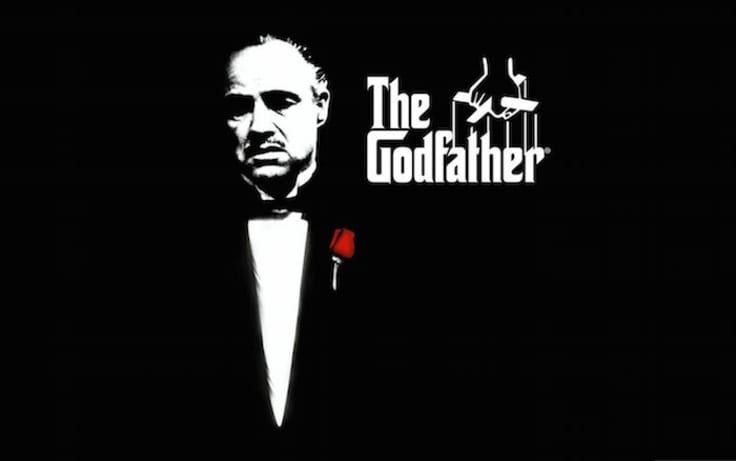 Godfather illustration poster