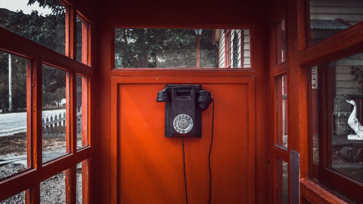 Telephone booth customer service problems