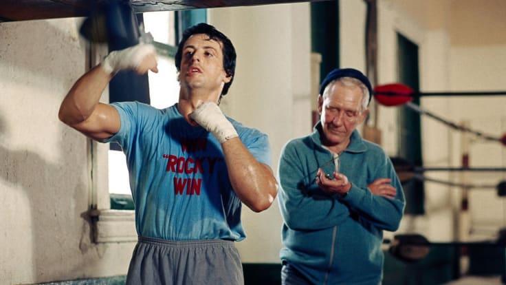 Rocky balboa boxing