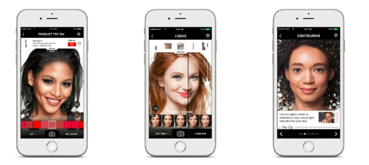 Sephora visual artists app