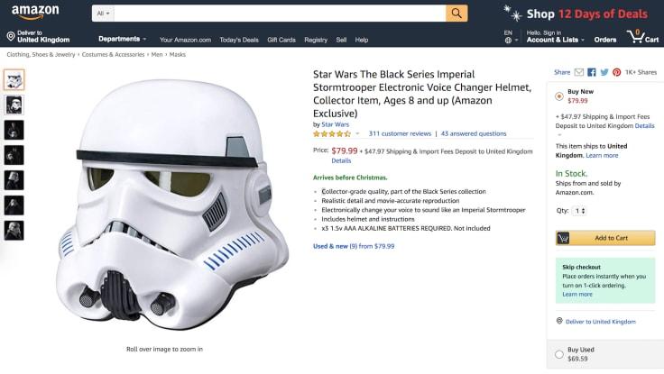 Amazon ebay shopping online