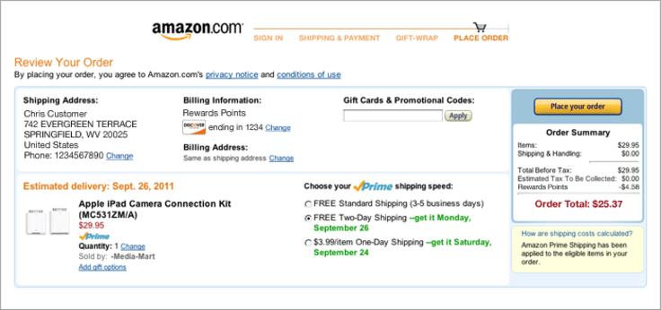 Amazon fulfilled by amazon program
