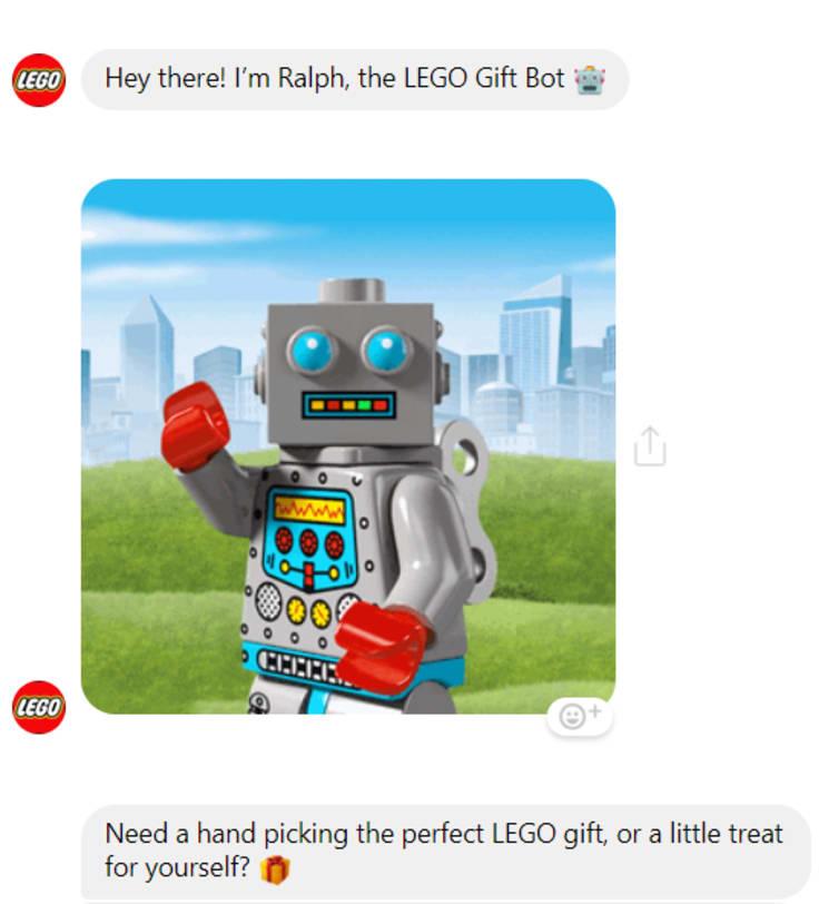 Lego chatbot
