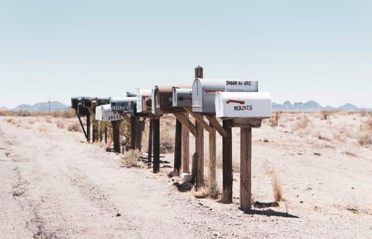 Mailbox desert email drip campaign