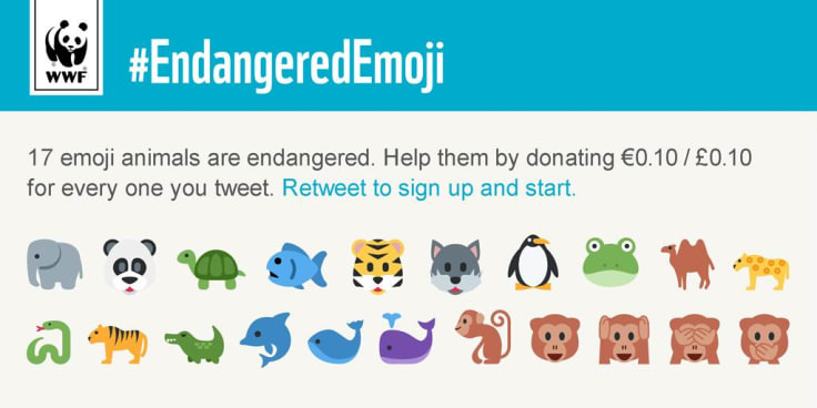 WWF inspiring social media campaign