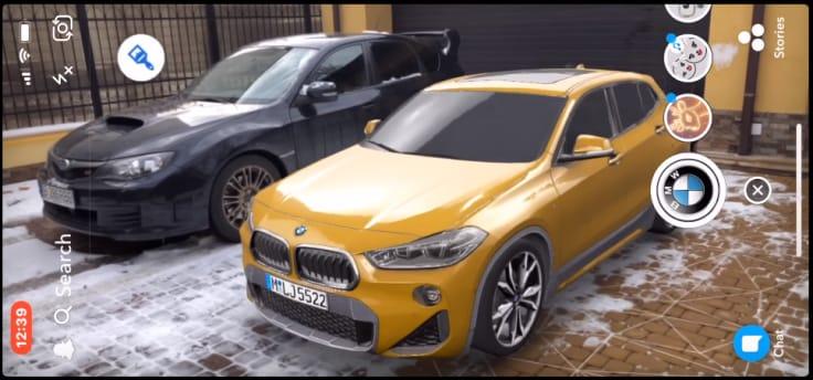 BMW inspiring social media campaign