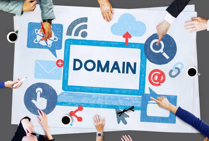 Store domain name