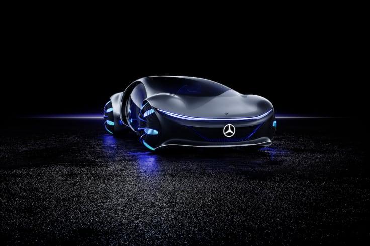 Mercedes AVTR at CES 2020