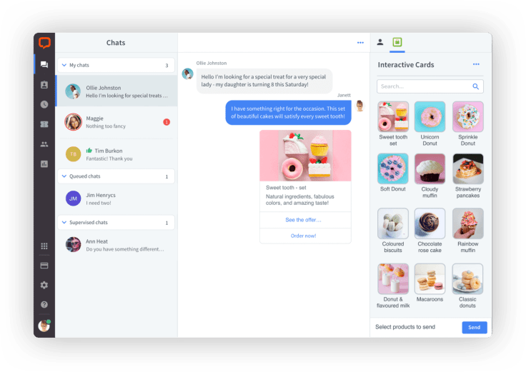 LiveChat app