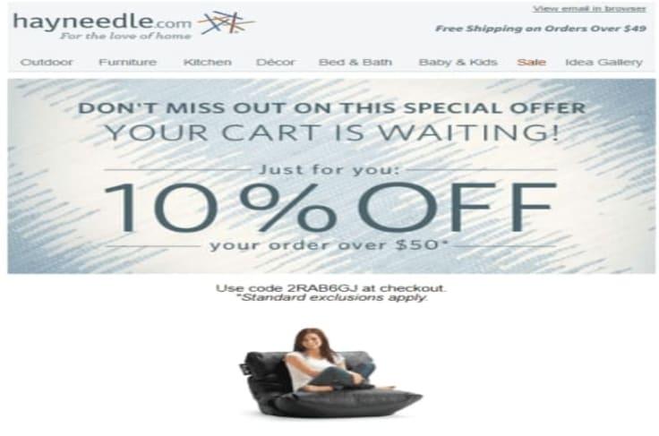 hayneedle email marketing