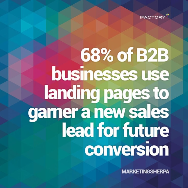 marketingsherpa landing page stats