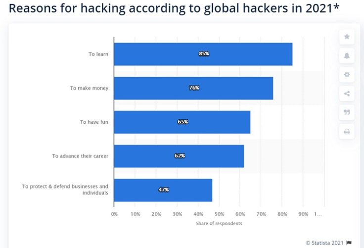 reasons for hacking