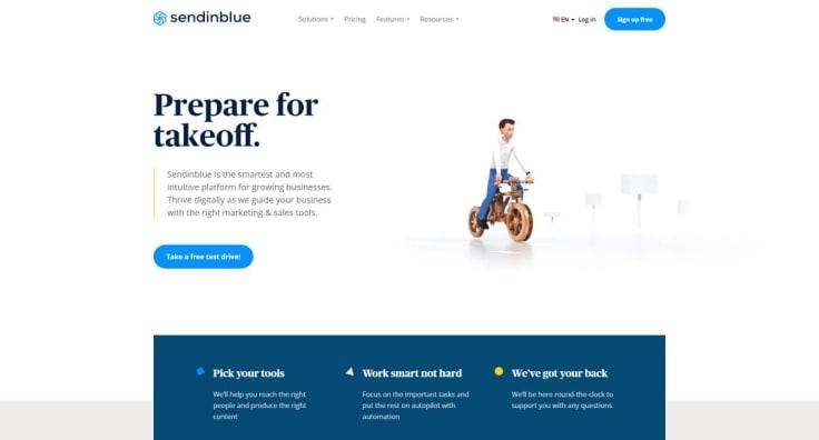 sendinblue partner program