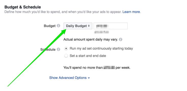 affiliate marketing budget