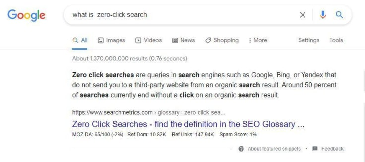 what-is-zero-click-search