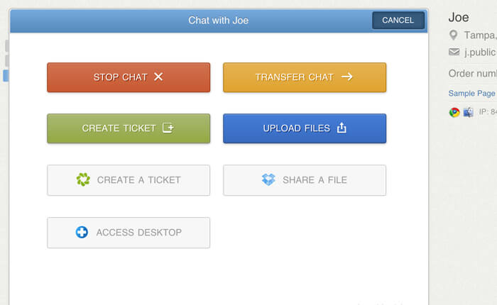Integrations in LiveChat