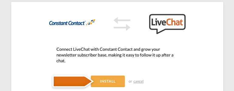 Constant Contact: grow your Leads from a chat!
