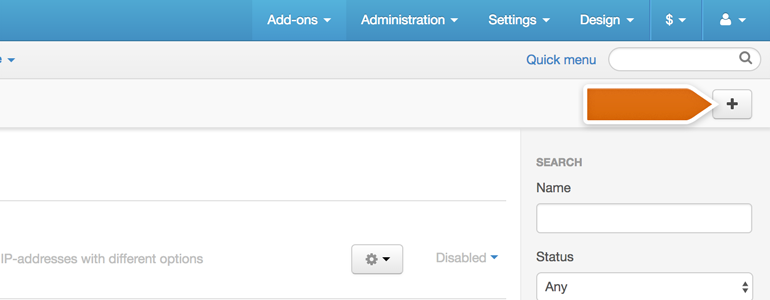 CS-Cart LiveChat: Click on the Install Add-on button