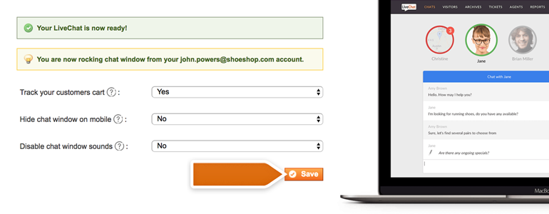 Magento LiveChat – configure your plugin with just a few easy steps!