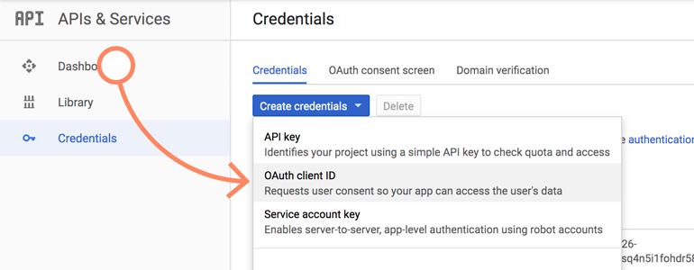NetSuite LiveChat: Choose OAuth client ID from the list of available options