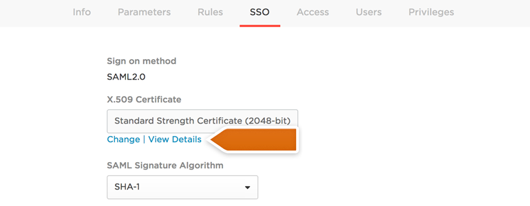 View details of X.509 Certificate