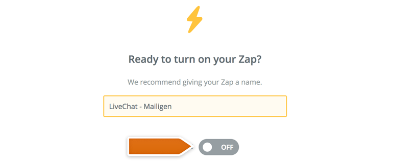 Mailigen: add new contacts straight from your chats