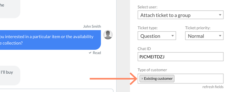 Zendesk LiveChat: map your Zendesk custom fields with additional information about customer