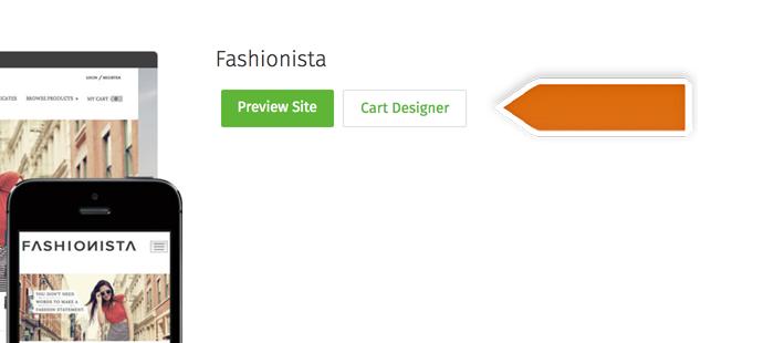 Click Cart Designer