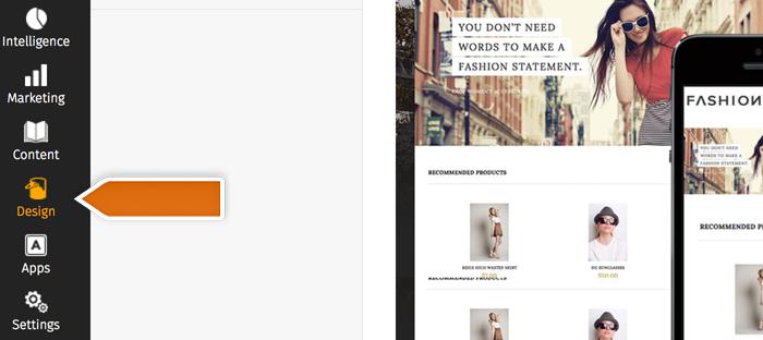 PinnacleCart Design section