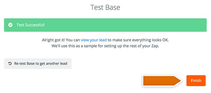 Base CRM integration: Testing Base
