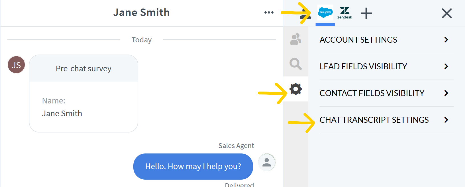 Add New Lead or New Contact