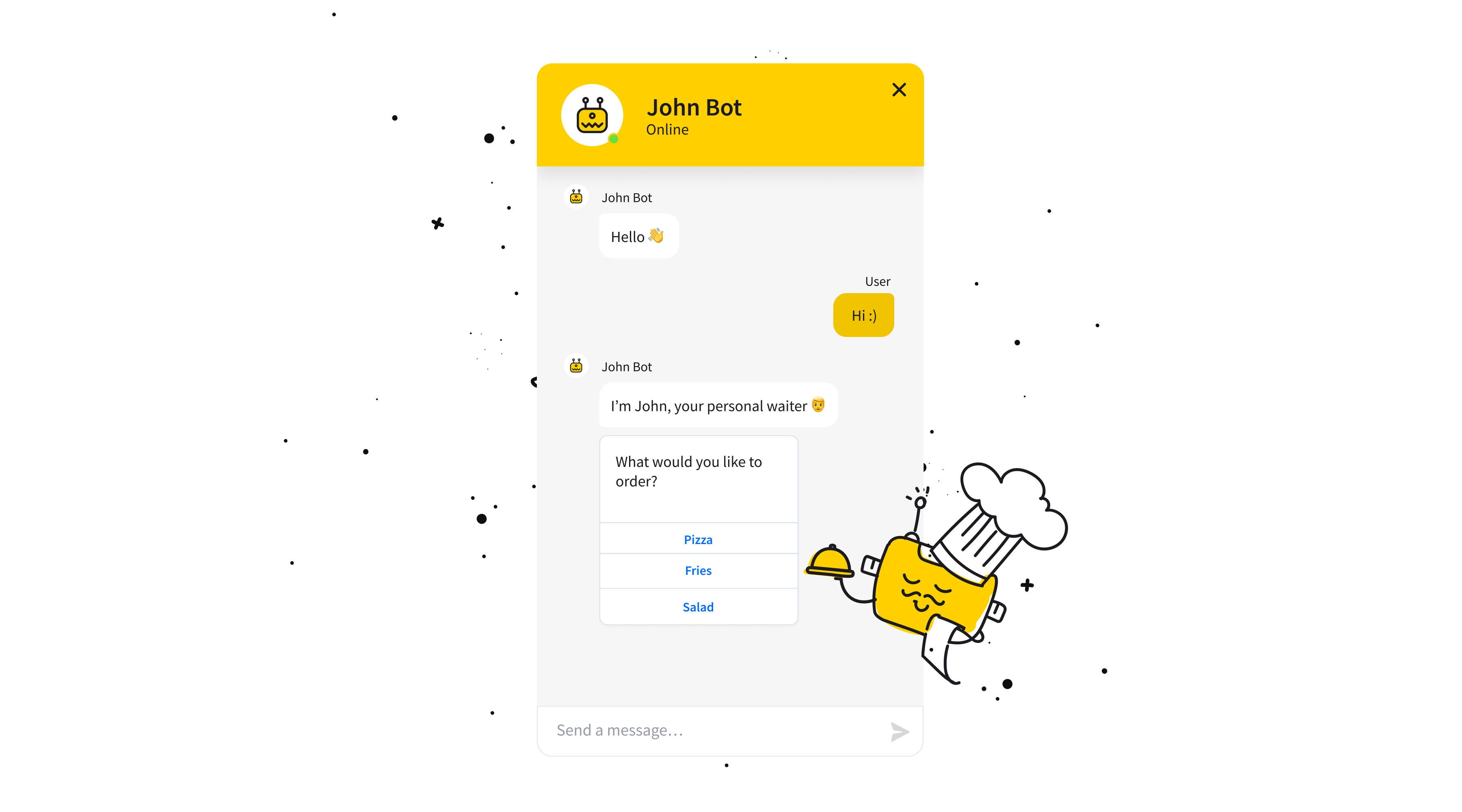 chatbot-buttons