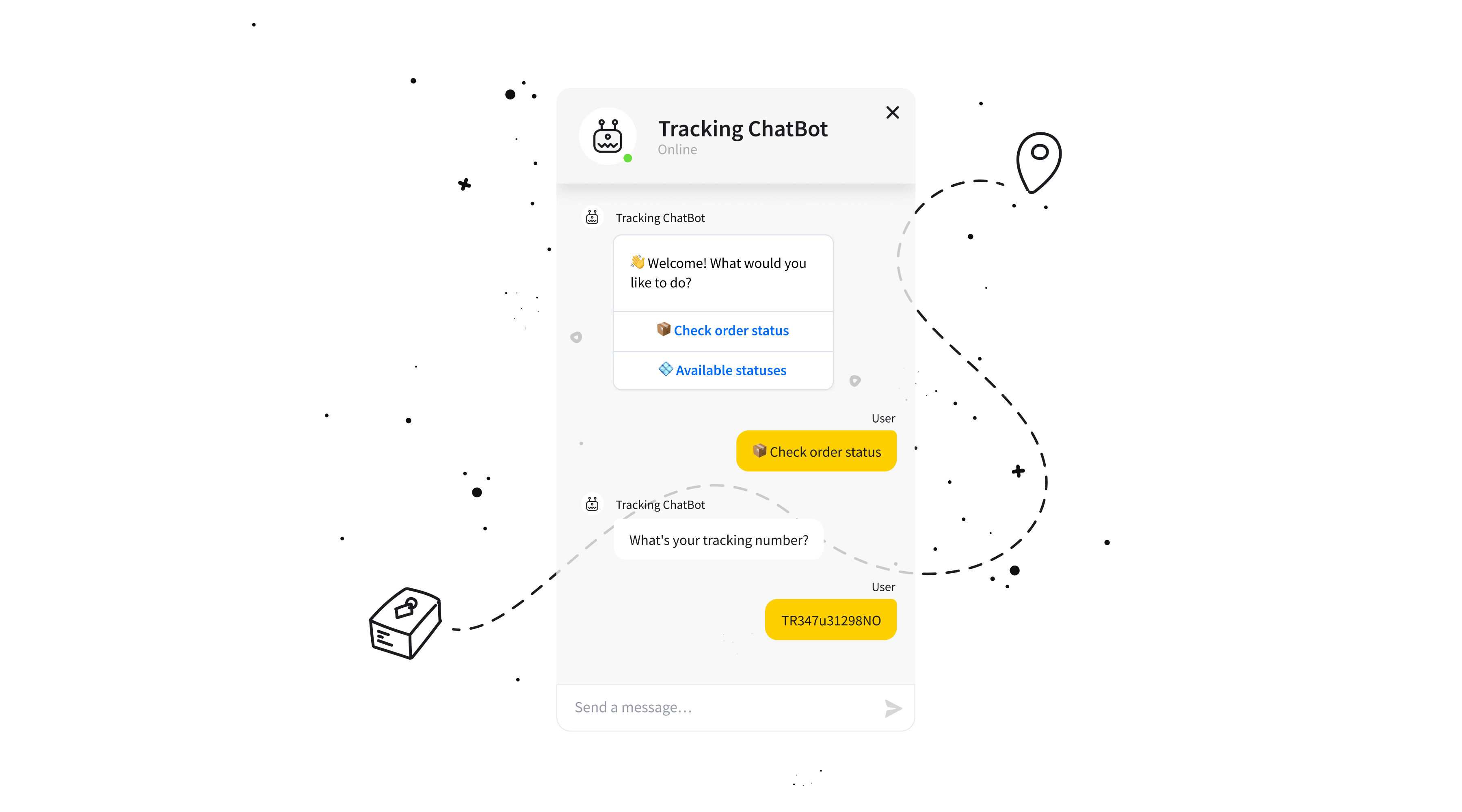 chatbot-package-tracking