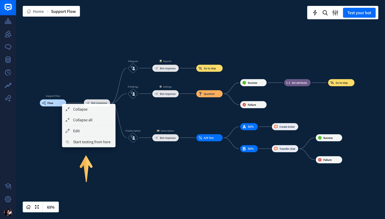 chatbot testing tool