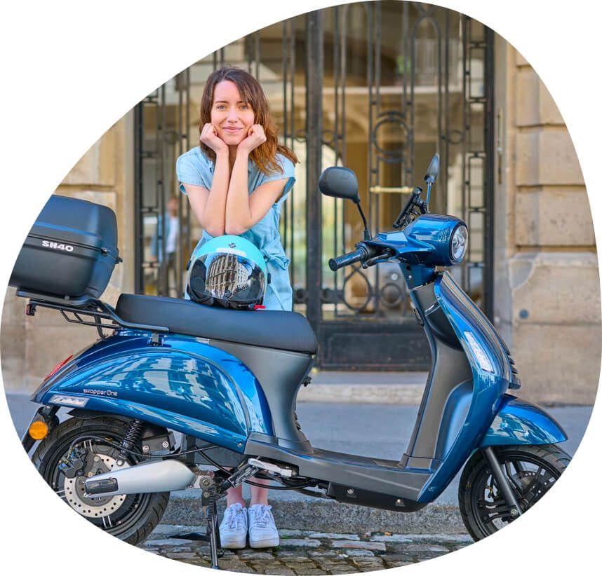 scooter électrique swapperOne