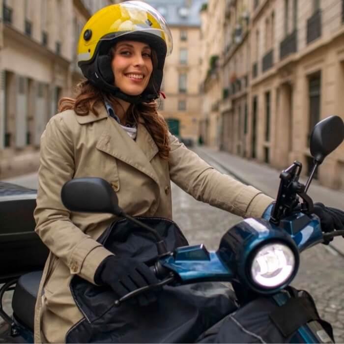 lifestyle scooter électrique femme