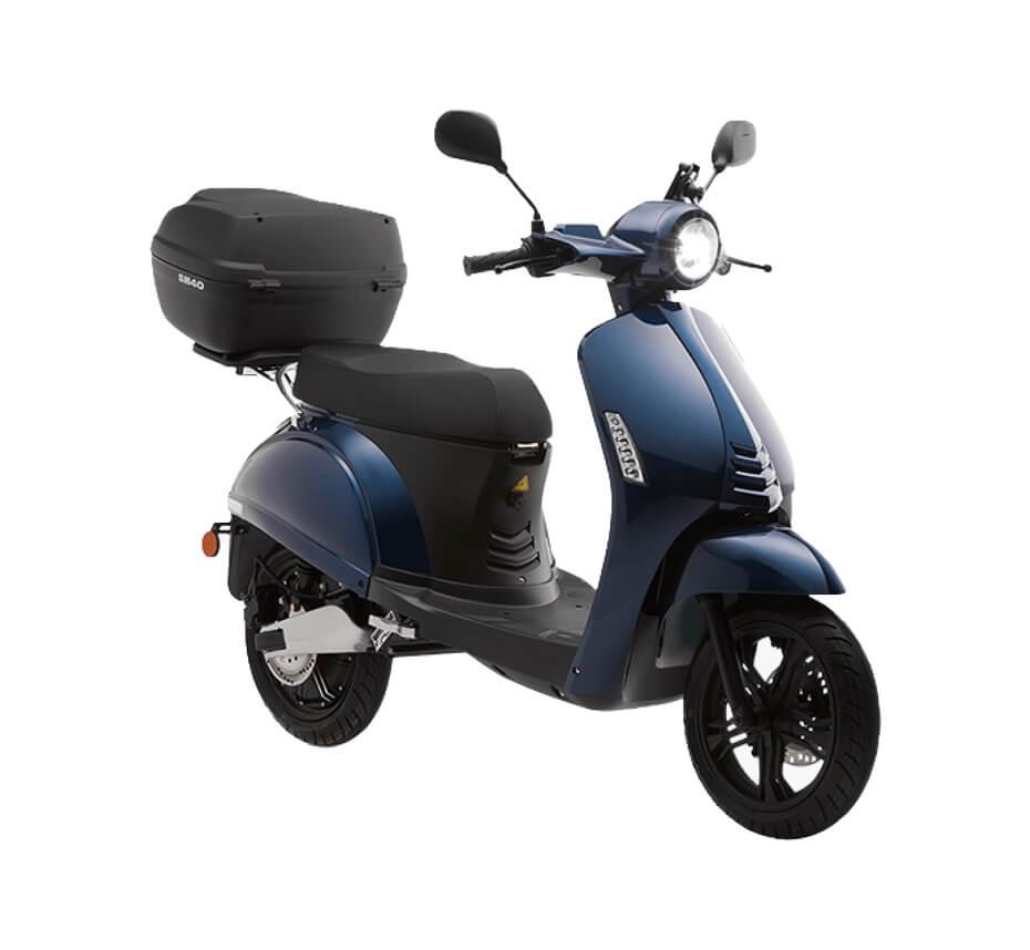 swapperone scooter électrique bleu nuit