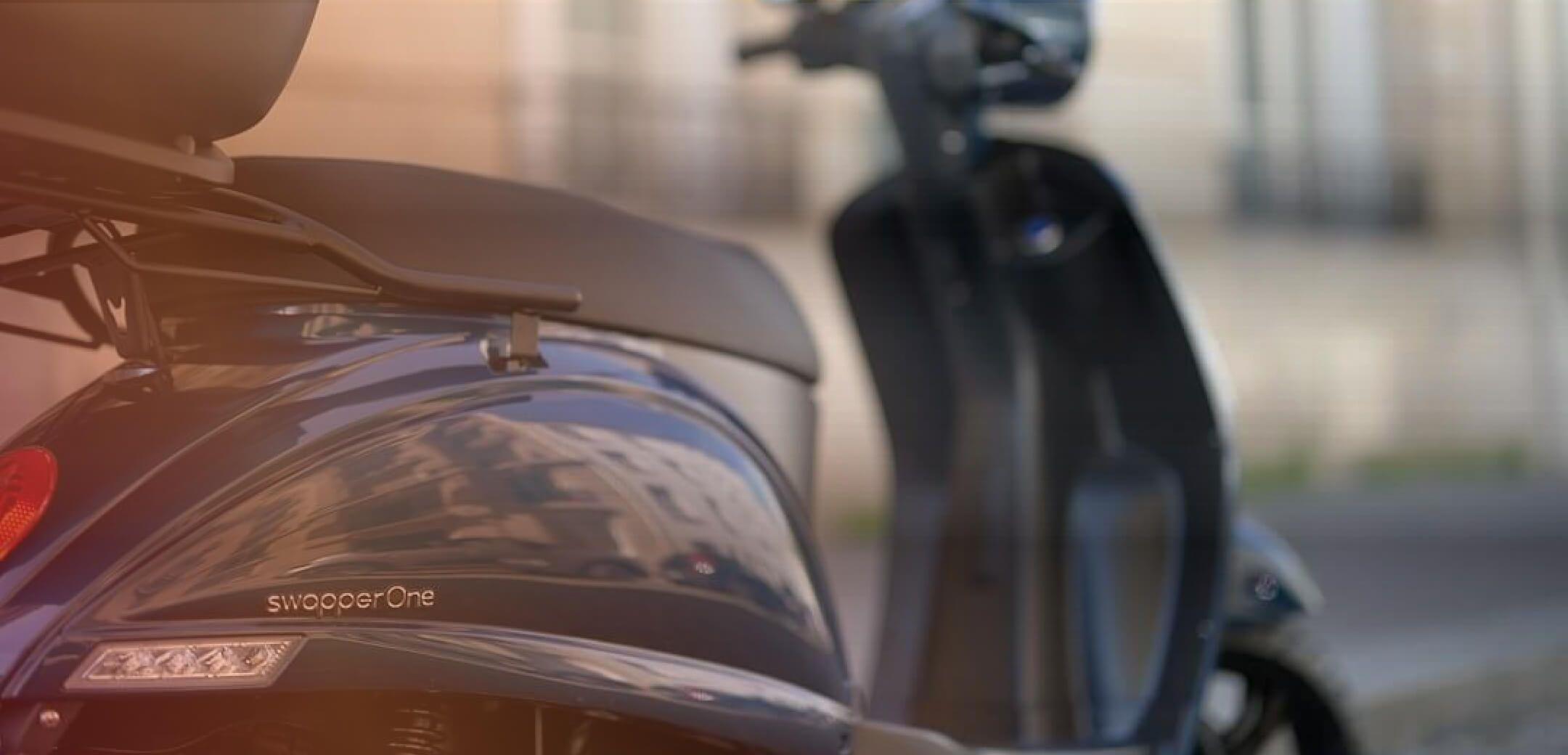 Design swapperOne scooter électrique